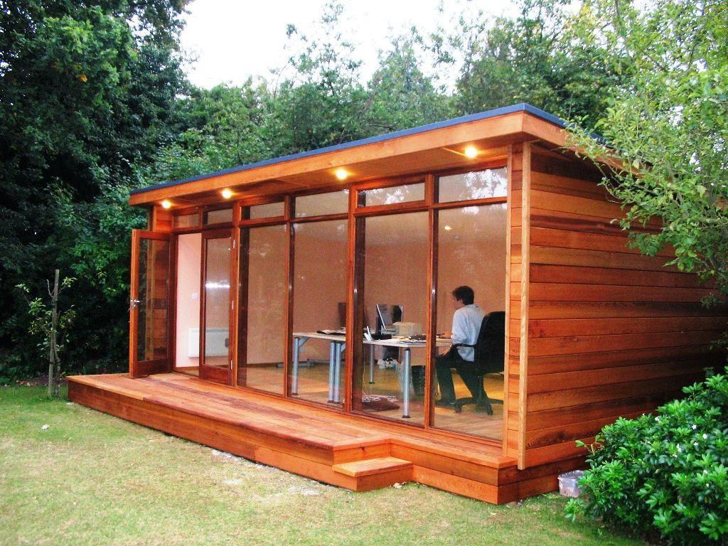 24 Indoor Office Garden Ideas And Backyard Plants Flower Vegetation Building A Shed Large Wooden Sheds Office Shed Modern backyard office plans