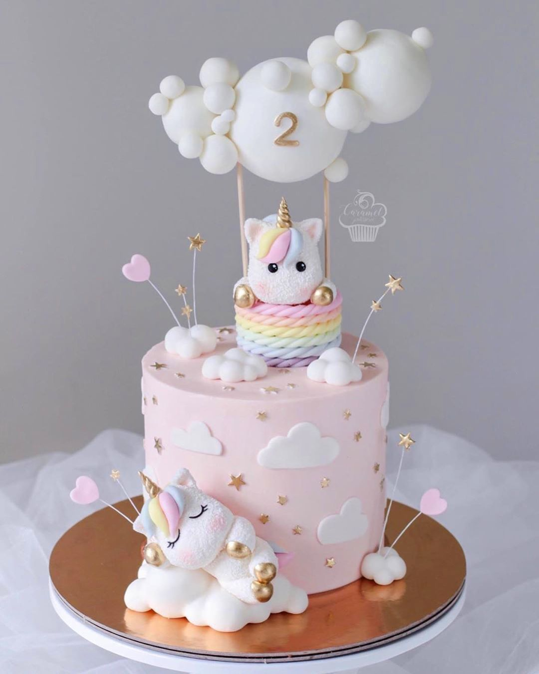 Tastymolds On Instagram Look At This Masterpiece By Caramel Patisserie Swipe For Baby Birthday Cakes Unicorn Birthday Cake Beautiful Birthday Cakes