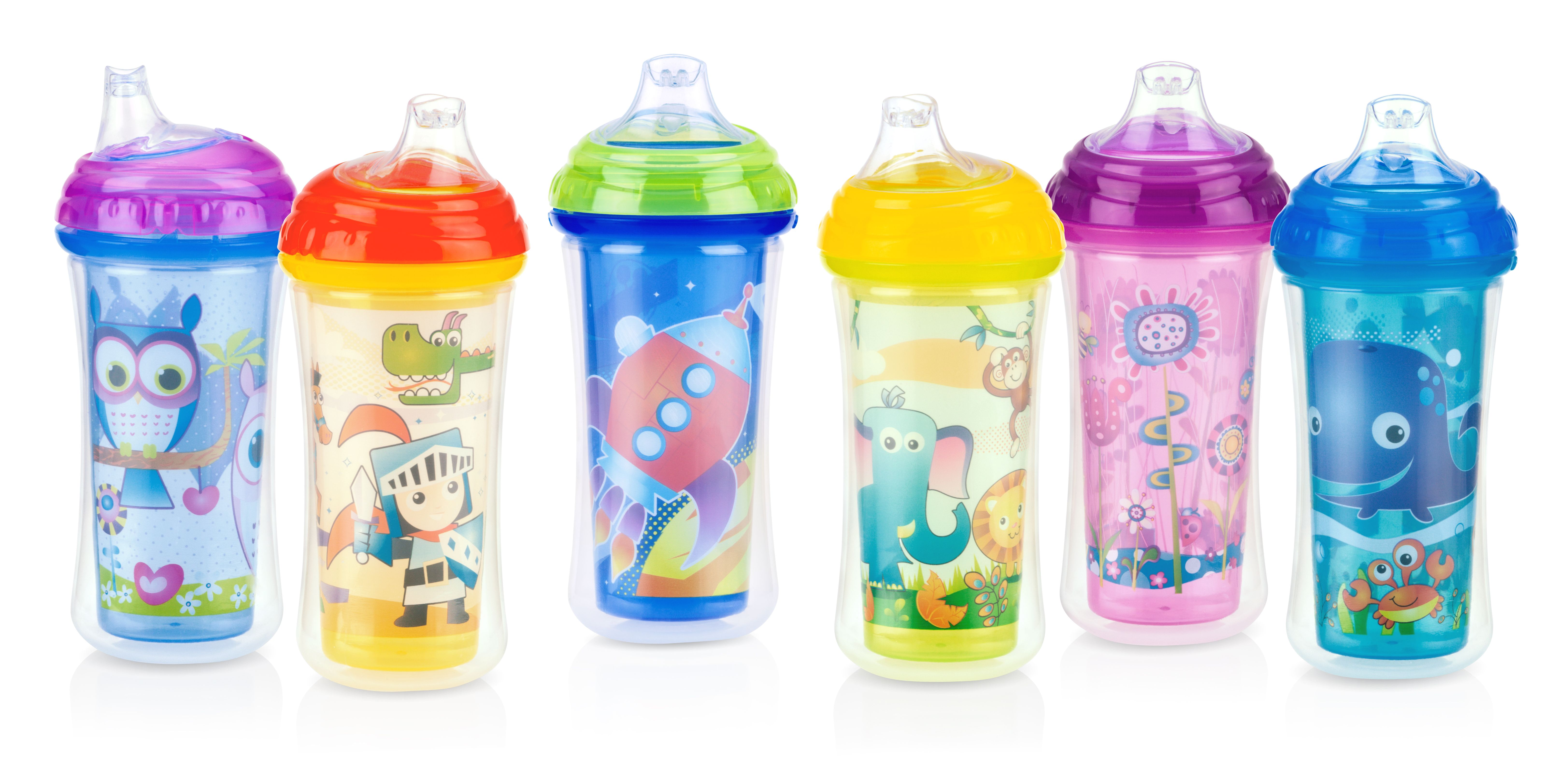 Nuby Sippy Cup Insulated Easy Sipper No-Spill 9 oz.