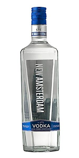 New Amsterdam Vodka Is A Premium 80 Proof Vodka Made From The