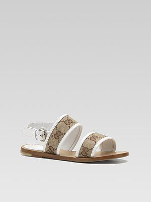 e31716b77a691 Strappy sandals from Gucci baby