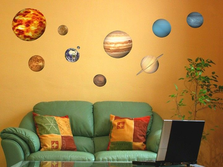 Educational Solar System Planets Wall Stickers Did you know…? Our ...