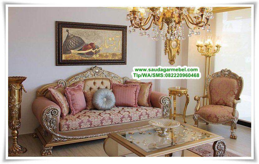 Kursi Sofa Mewah Terbaru Italian Royal Antique Set Sofa Tamu Klasik