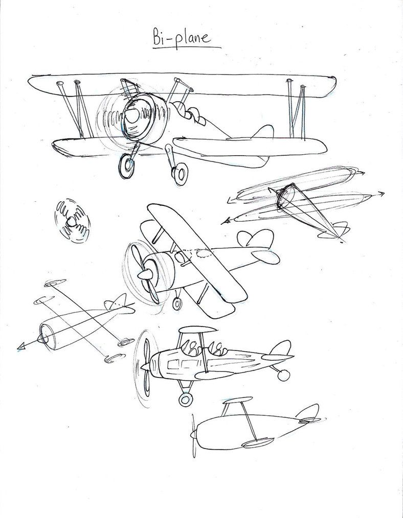 Draw a Biplane by Diana-Huang on DeviantArt