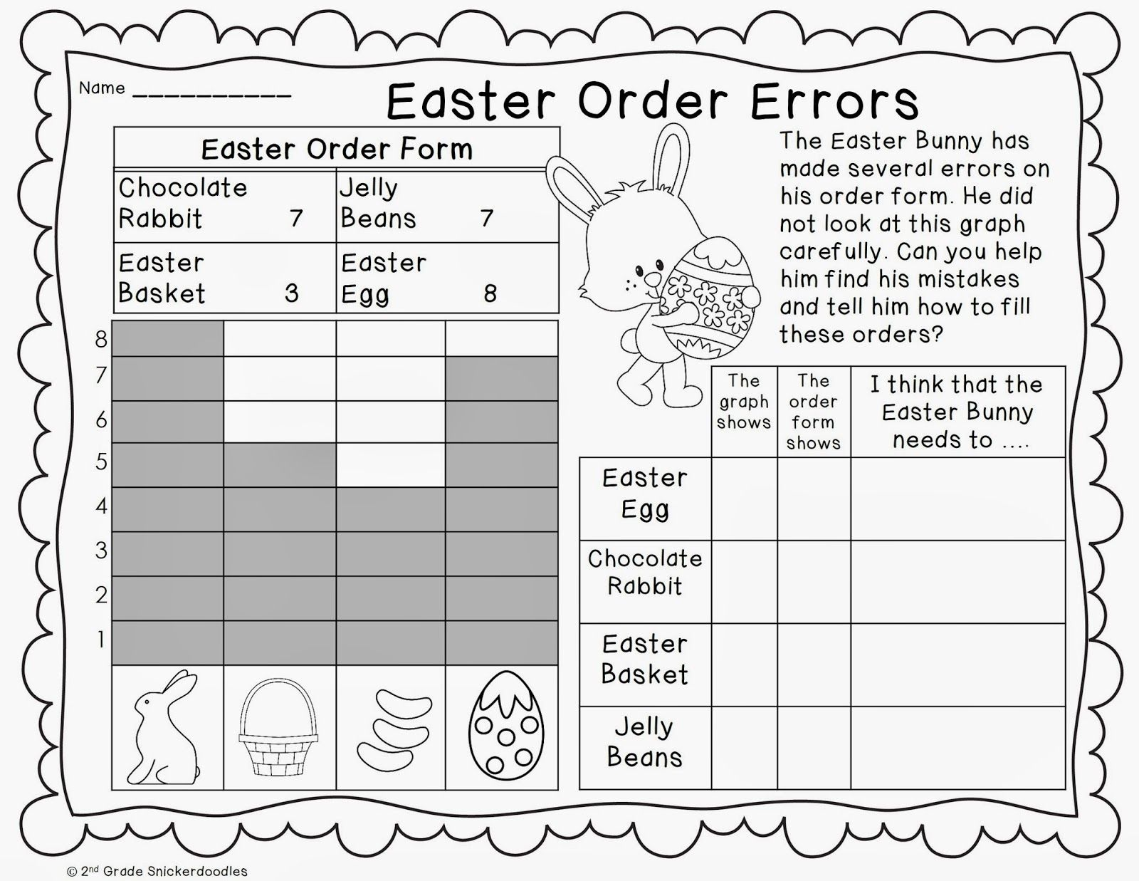 Graphing Freebies Spring Math Worksheets Graphing Worksheets Graphing Freebie [ 1237 x 1600 Pixel ]