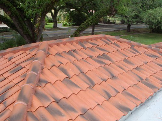 This Borja Tile Roof Was Professionally Installed In Coral Gables By The Most Professional Miami Roofing Contractor Coral Gables Roofing Contractors Roofing