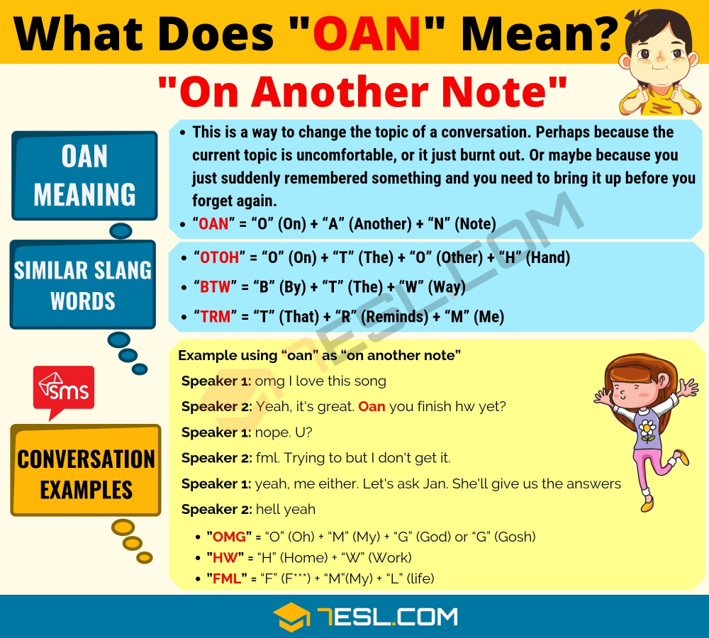Oan Meaning What Does Oan Mean Useful Text Conversations Learn