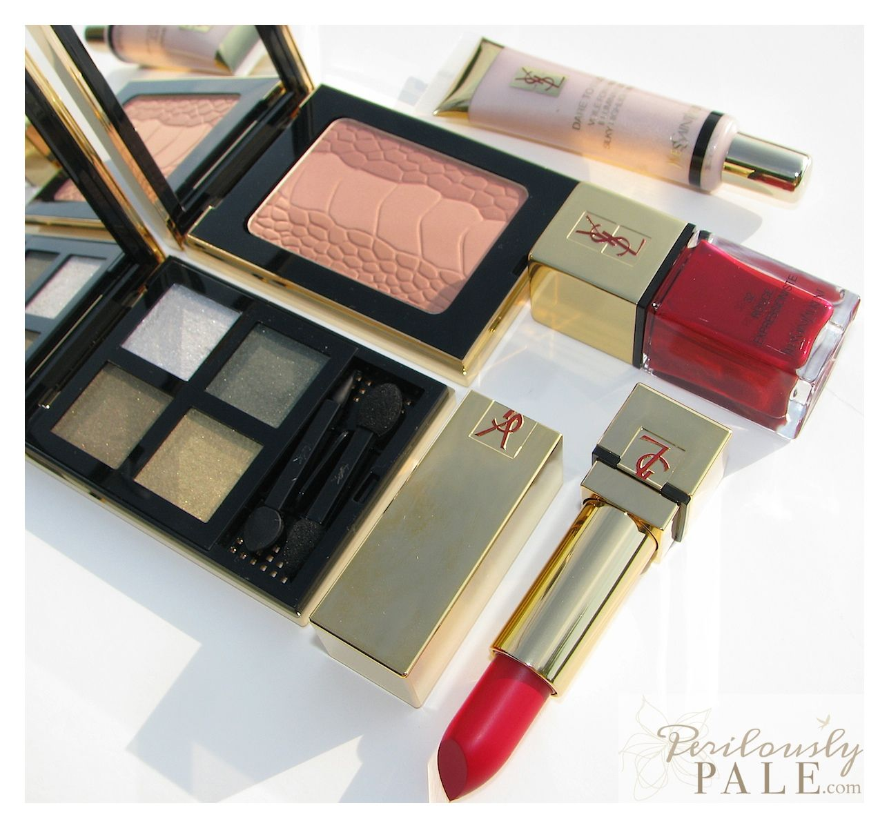 Coming Soon on Perilously Pale ~ Yves Saint Laurent YSL Fall 2012  Perilously Pale