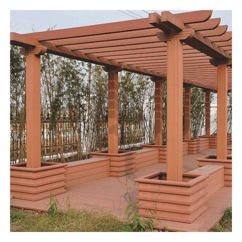 The use of WPC small pergolas WPC small pergolas are an extremely handy  product and, above all, easy to assemble. You lay it like any regular strip… - The Use Of WPC Small Pergolas WPC Small Pergolas Are An Extremely