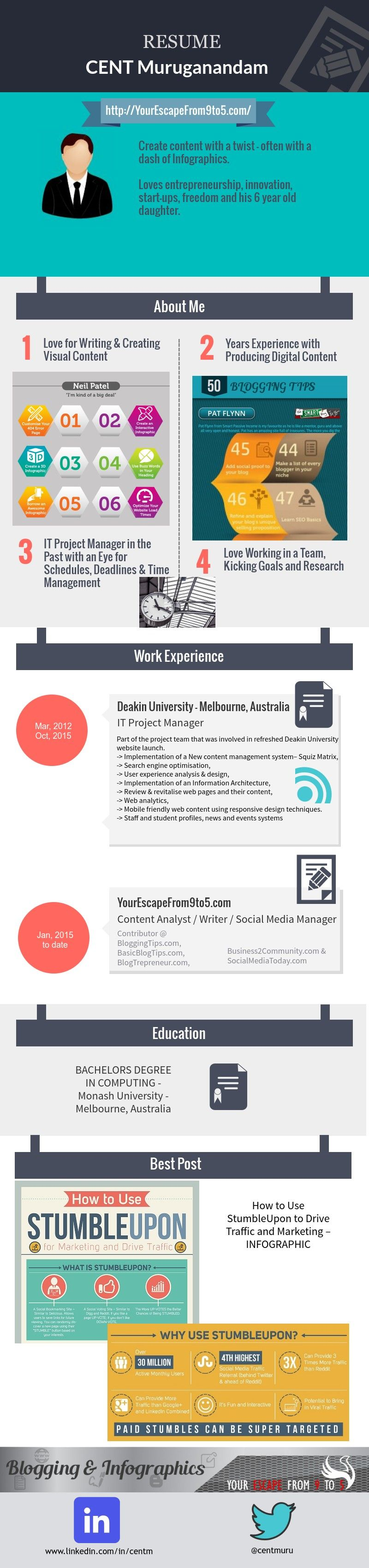 How To Create An Infographic Resume Free Of Cost Infographic Resume How To Create Infographics Infographic