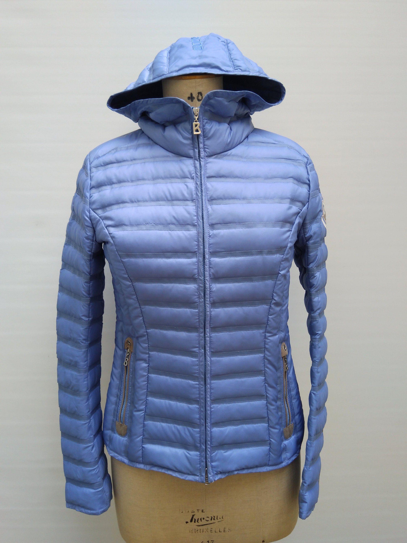Bogner Sky Blue Hooded Down Jacket [ 3000 x 2250 Pixel ]