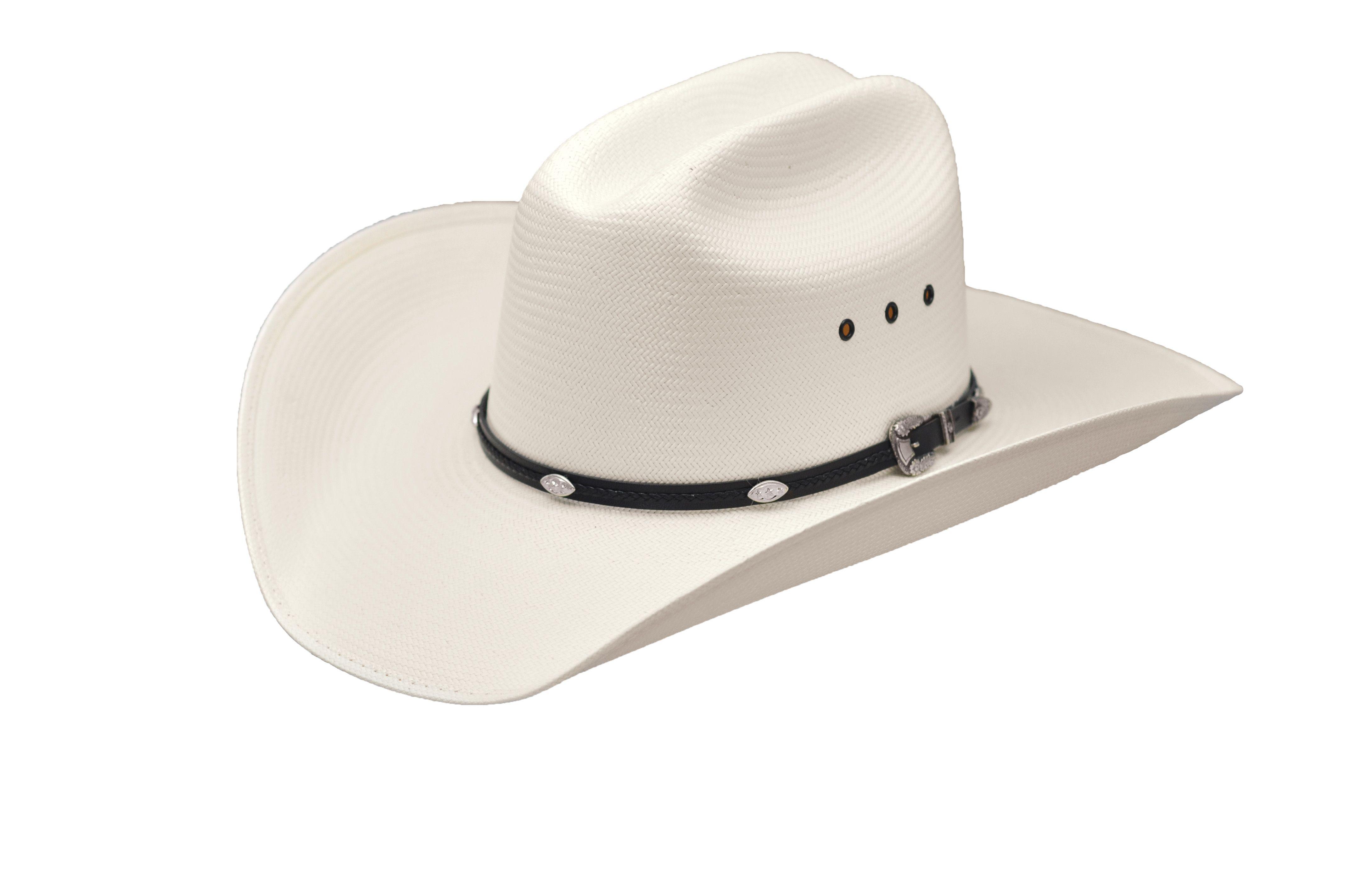 Master Hatters Finalist 20X Premium Cowboy Hat Straw Rodeo Pro Cattleman  Crown Color  White Master df91b6929263