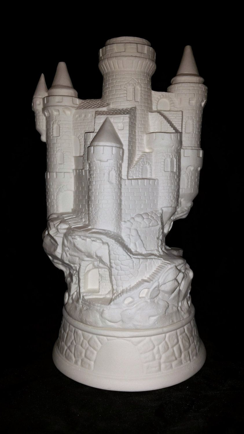 Ready to paint medieval castle smoker incense burner unpainted ready to paint medieval castle smoker incense burner unpainted ceramic bisque paint your own pottery dailygadgetfo Choice Image