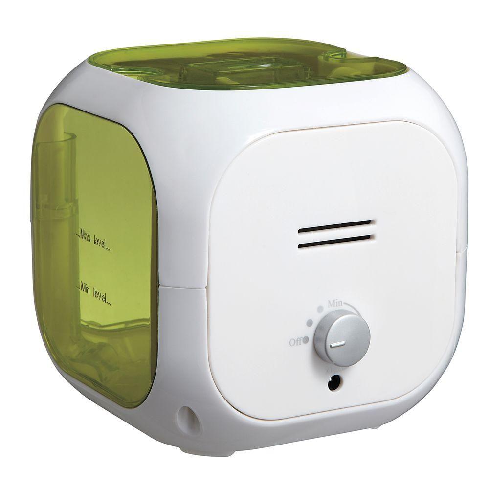 Ultrasonic Cube Humidifier 1 Gal Kids Whale Cool Mist White
