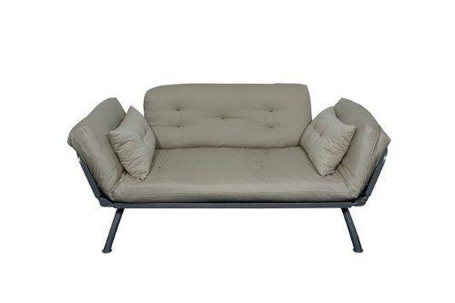 American Furniture Alliance Mali Flex Futon Frame And Cushions Khaki 266 07 21 Off Futonideasfors