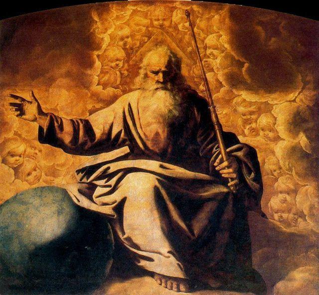 Francisco de Zurbarán, El Padre Eterno.