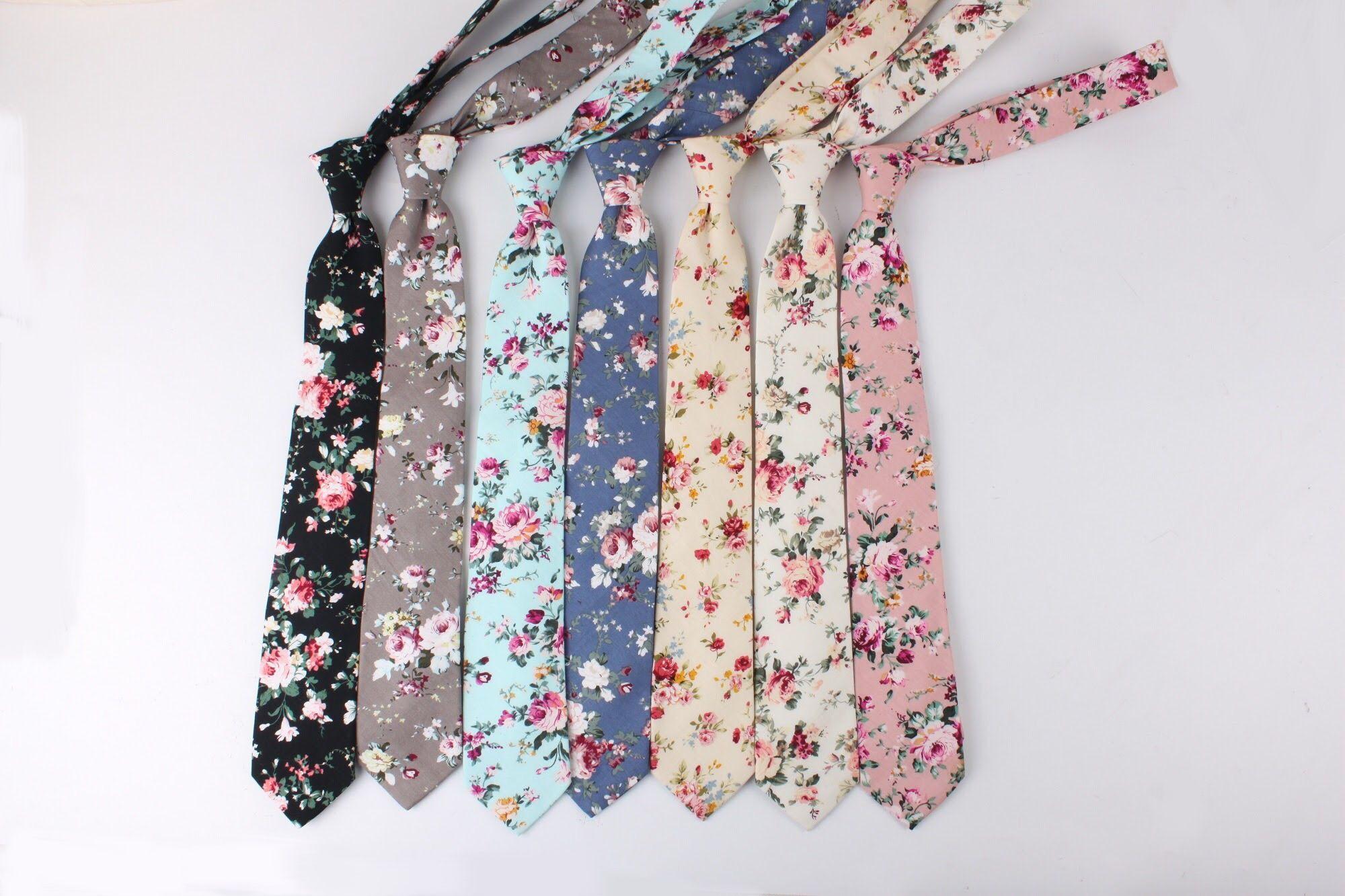 Floral tie by mytieshop | Wedding idea | flower tie ...