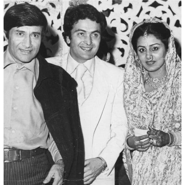Rishi & Neetu Kapoor's Wedding Reception Card & Photos Go