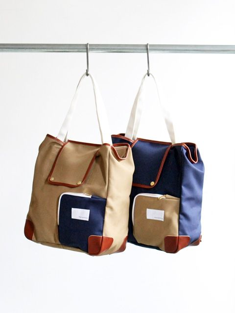 nanamica Canvas 2Way Tote Bag  d87b353ea2973