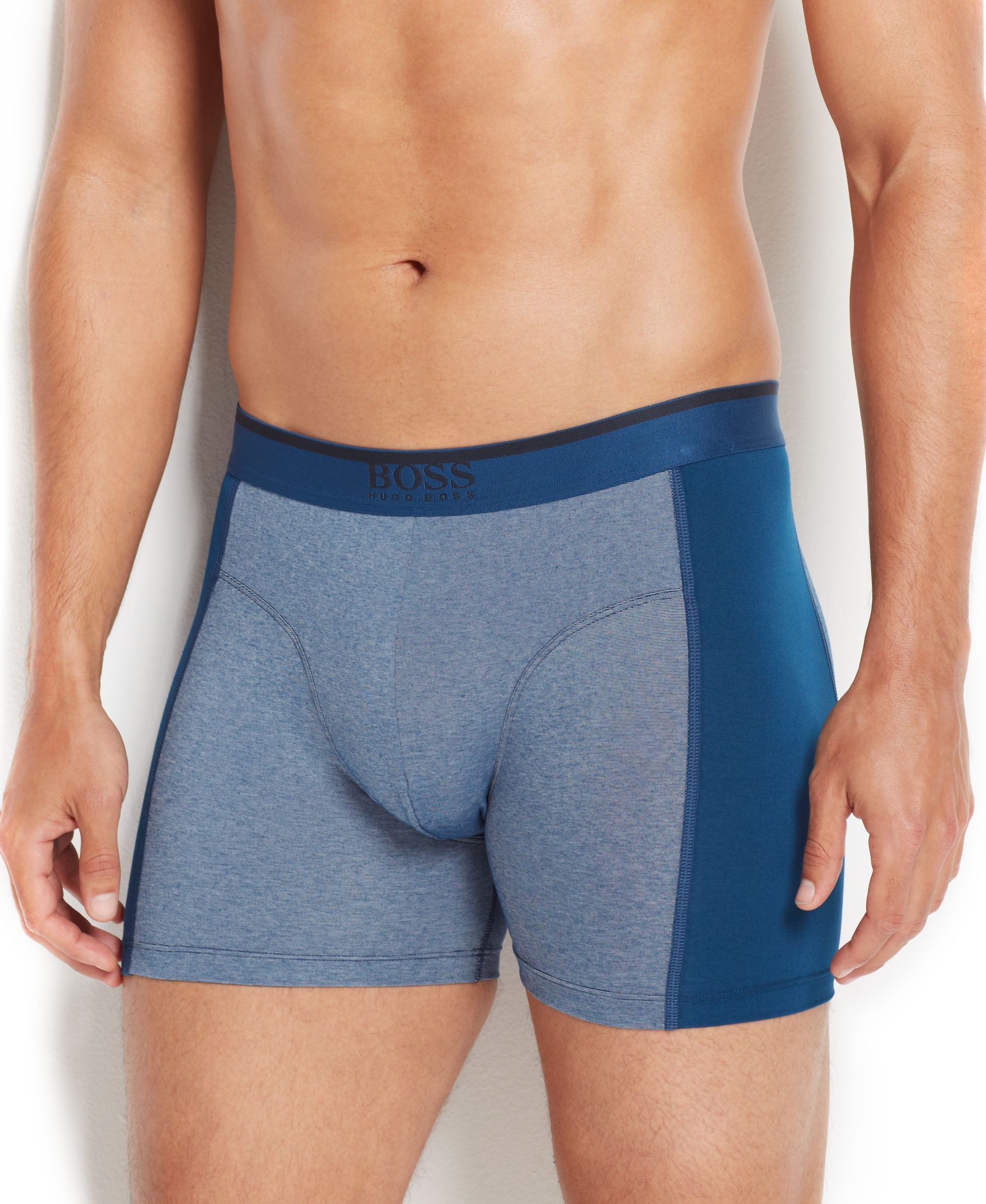 b513020eb0bf Hugo Boss Men's Cool Cotton Cyclist Boxer Briefs | Products | Ropa ...