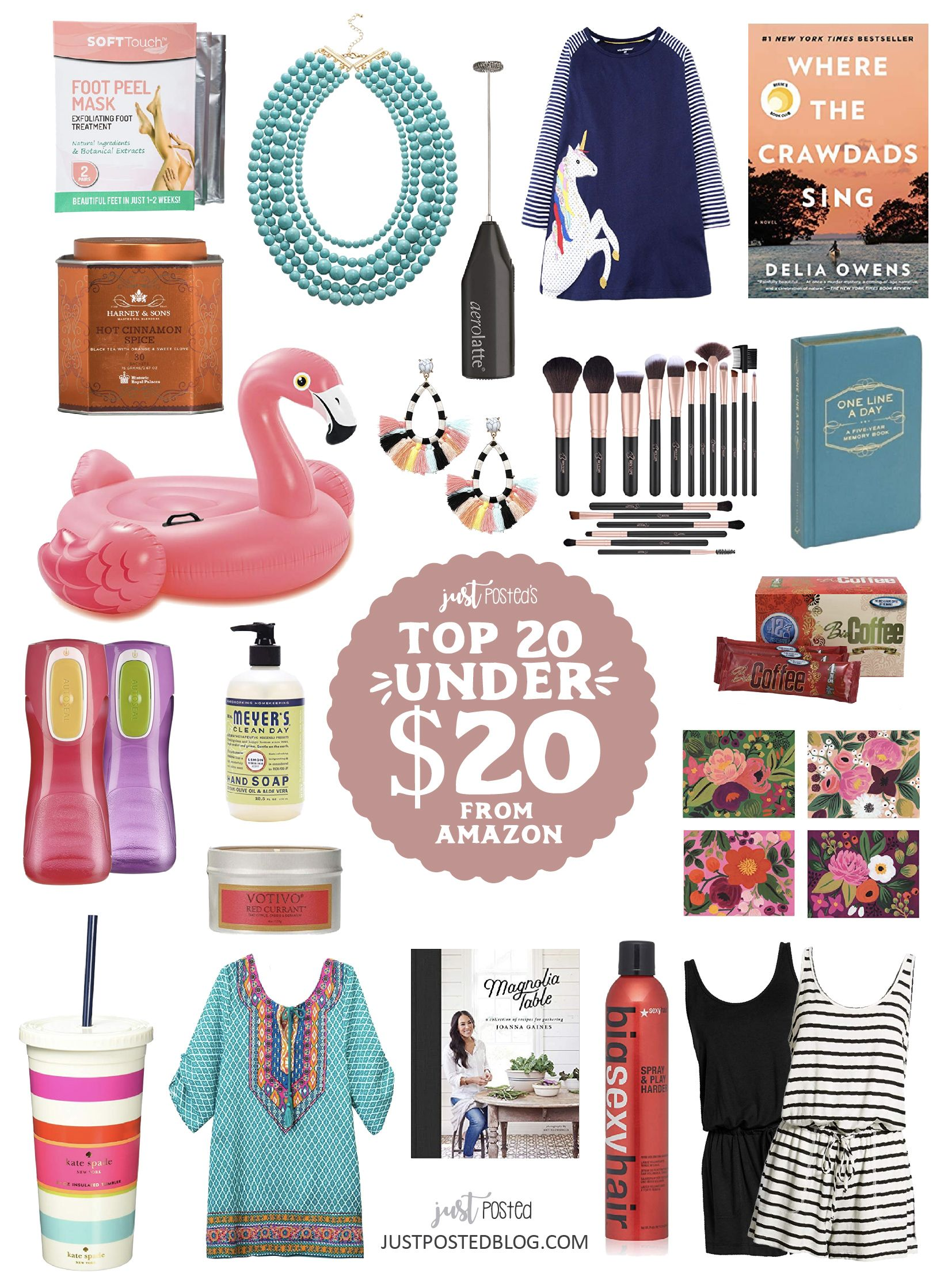 A Just Posted Amazon Top 20 Finds Under 20 From Clothing To