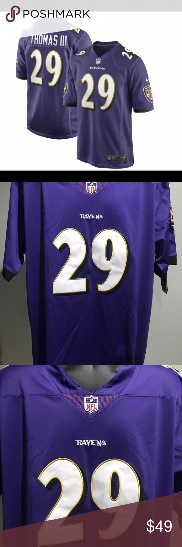 Earl Thomas Baltimore Ravens Nike NFL Jersey   Nike nfl, Baltimore ...