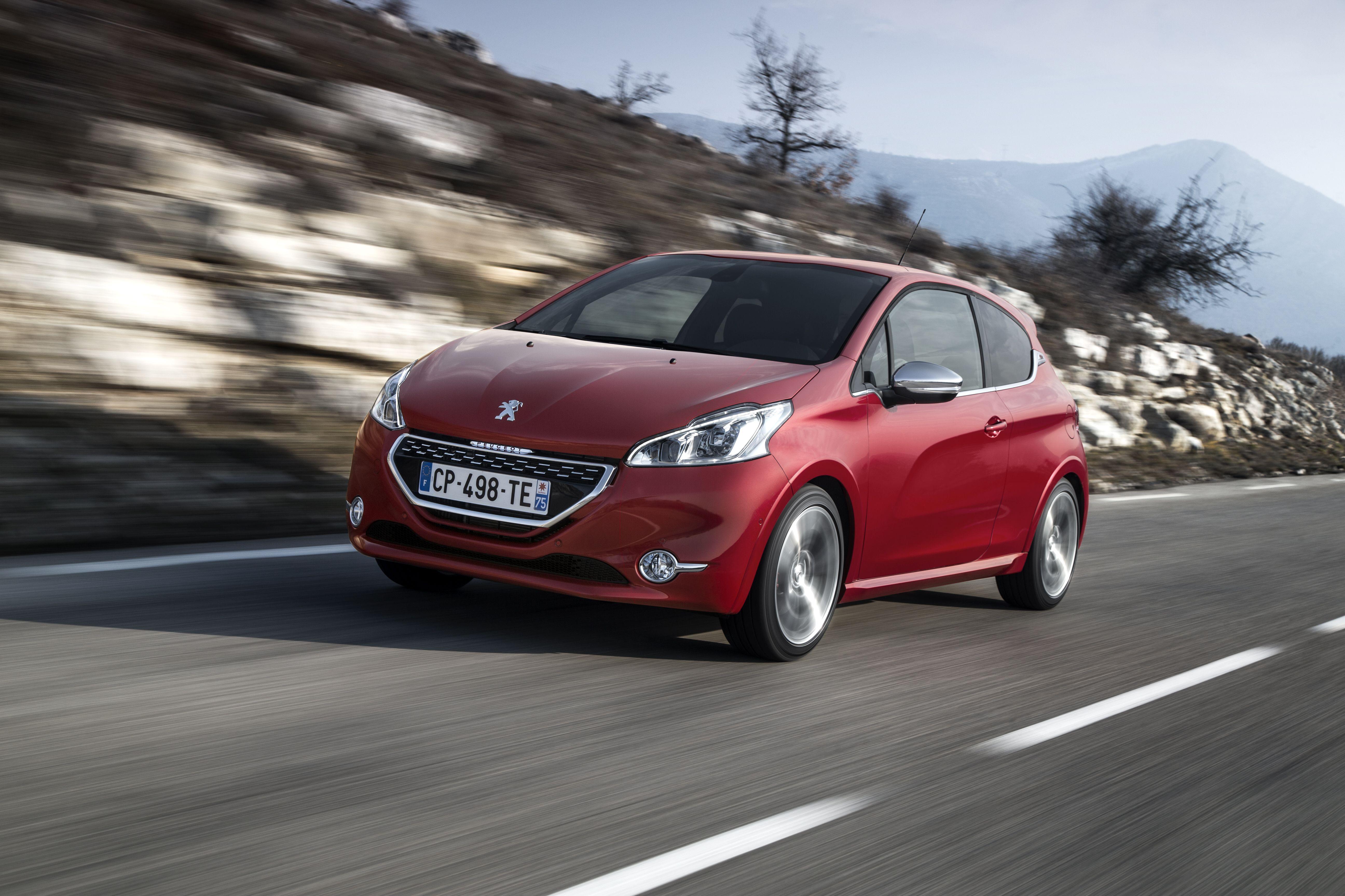208 Gti Peugeot Automotive Photography Car
