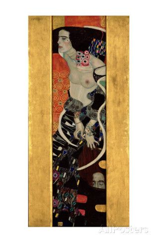 Judith II (Salome) Poster par Gustav Klimt sur AllPosters.fr ...