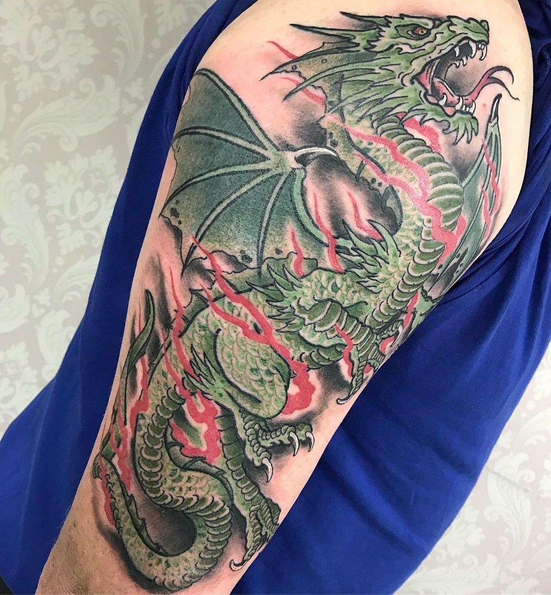 European Dragon Tattoo Tattoos Dragon Tattoo Sleeve Tattoos