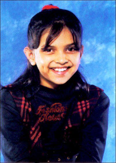 When She Was Small Bollywood Celebrities Deepika Padukone Age Photos