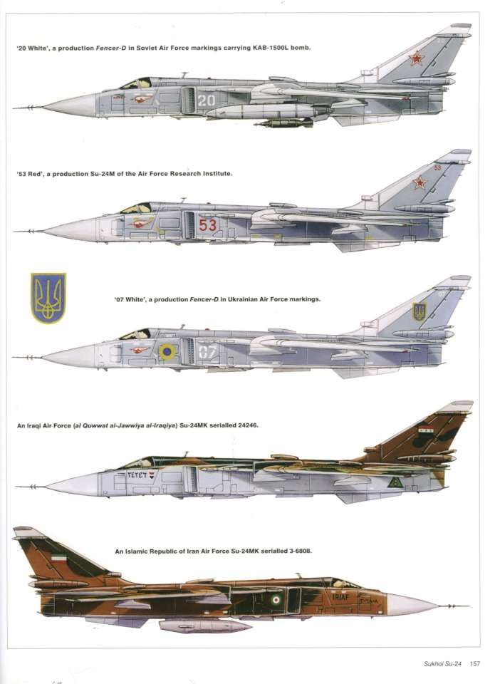Sukhoi Su-24 Fencer  | Planes - Sukhoi Su-24 Fencer