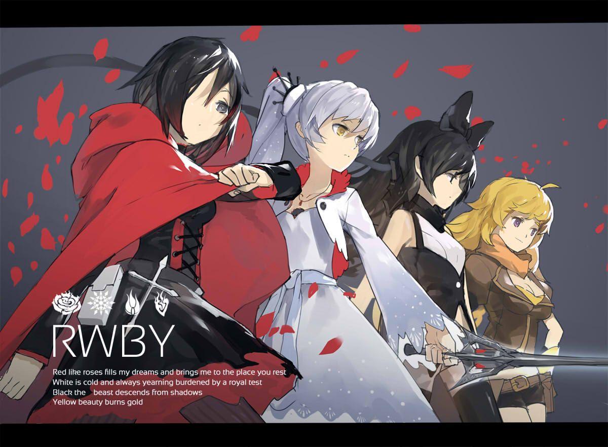 RWBY Group Pose