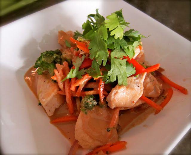 Stacey Deering: Chicken Stir Fry with Peanut Sauce
