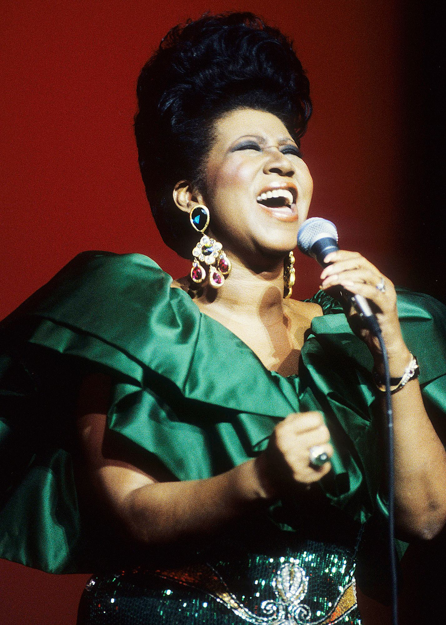 Queen Of Soul Aretha Franklin Singer Soul Music