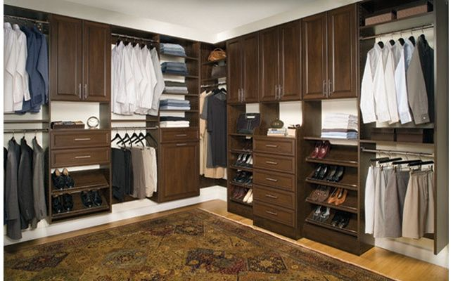 By combining form and function with extraordinary #design, @OrganizedLiving​ Classica closets and shelving transforms any room into an inspiring and gorgeous #space.
