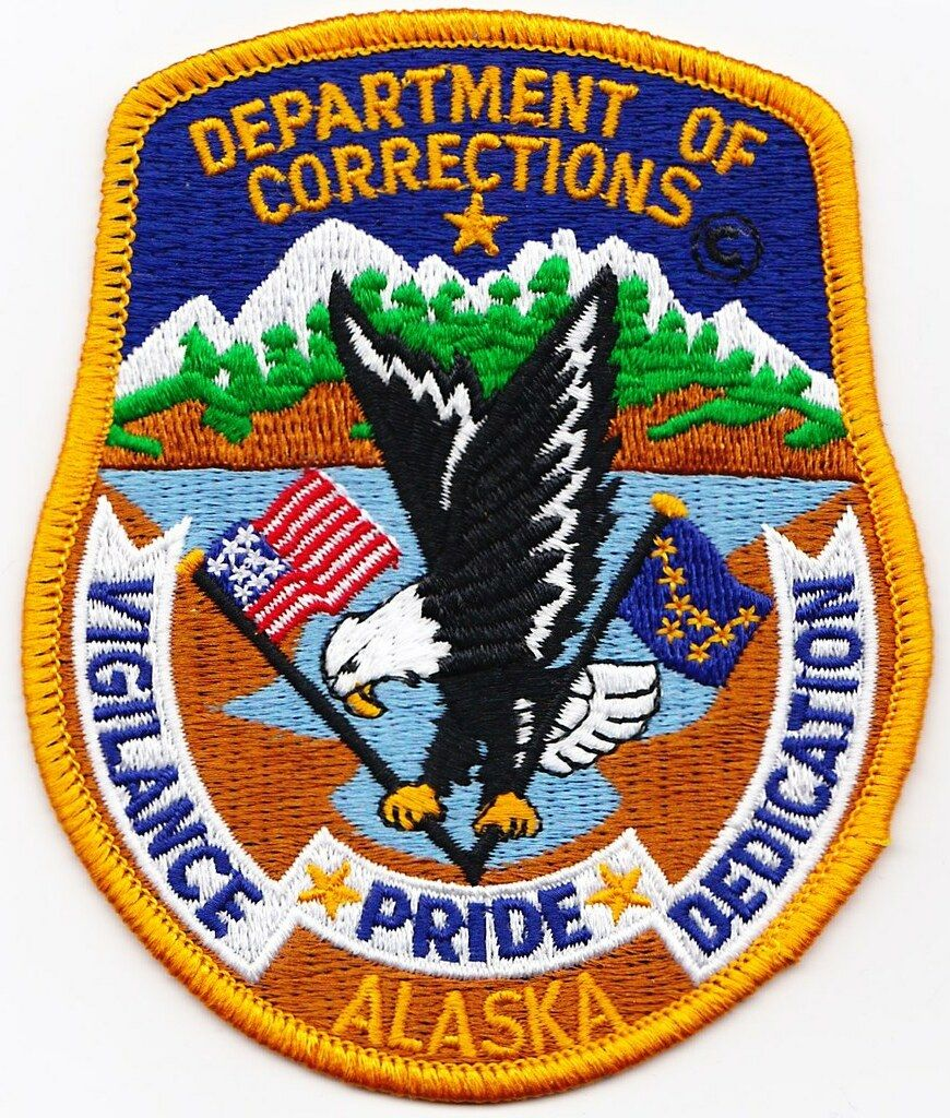 US State of Alaska Department of Corrections Patch (With