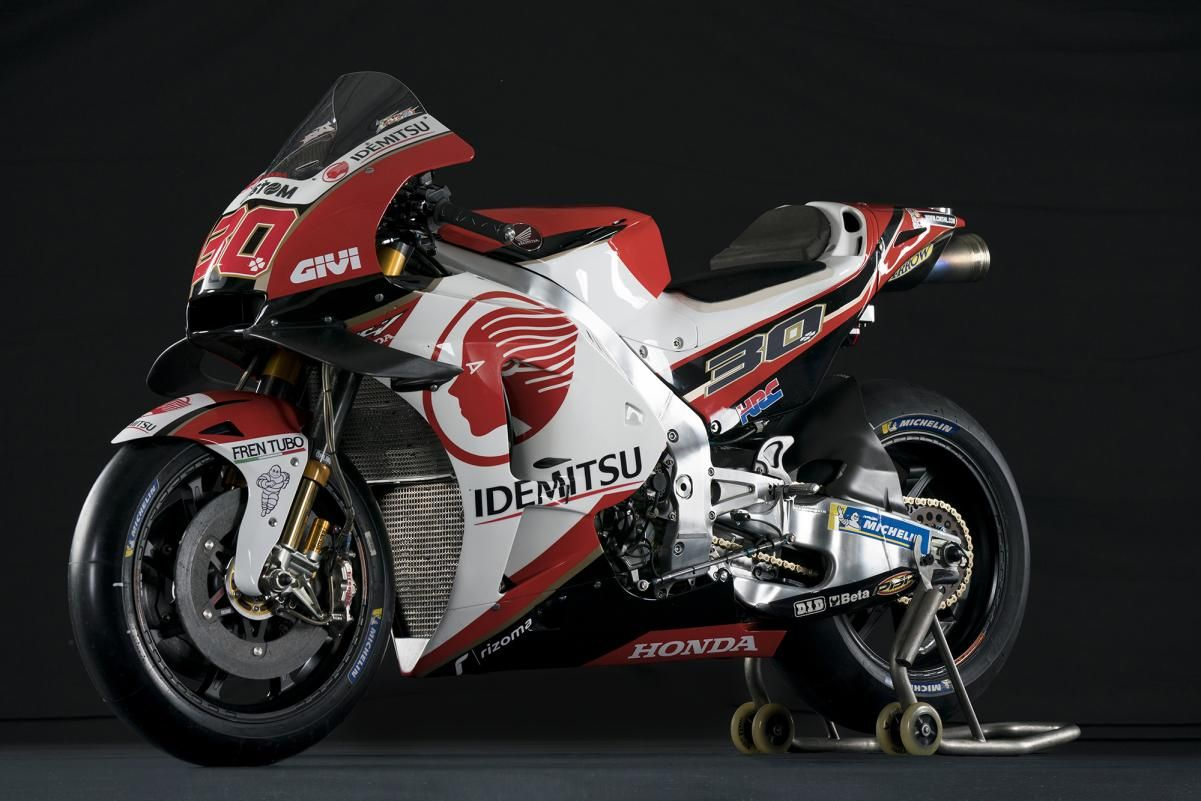 2019 Idemitsu Lcr Honda Rc213v Motogp Motor Balap