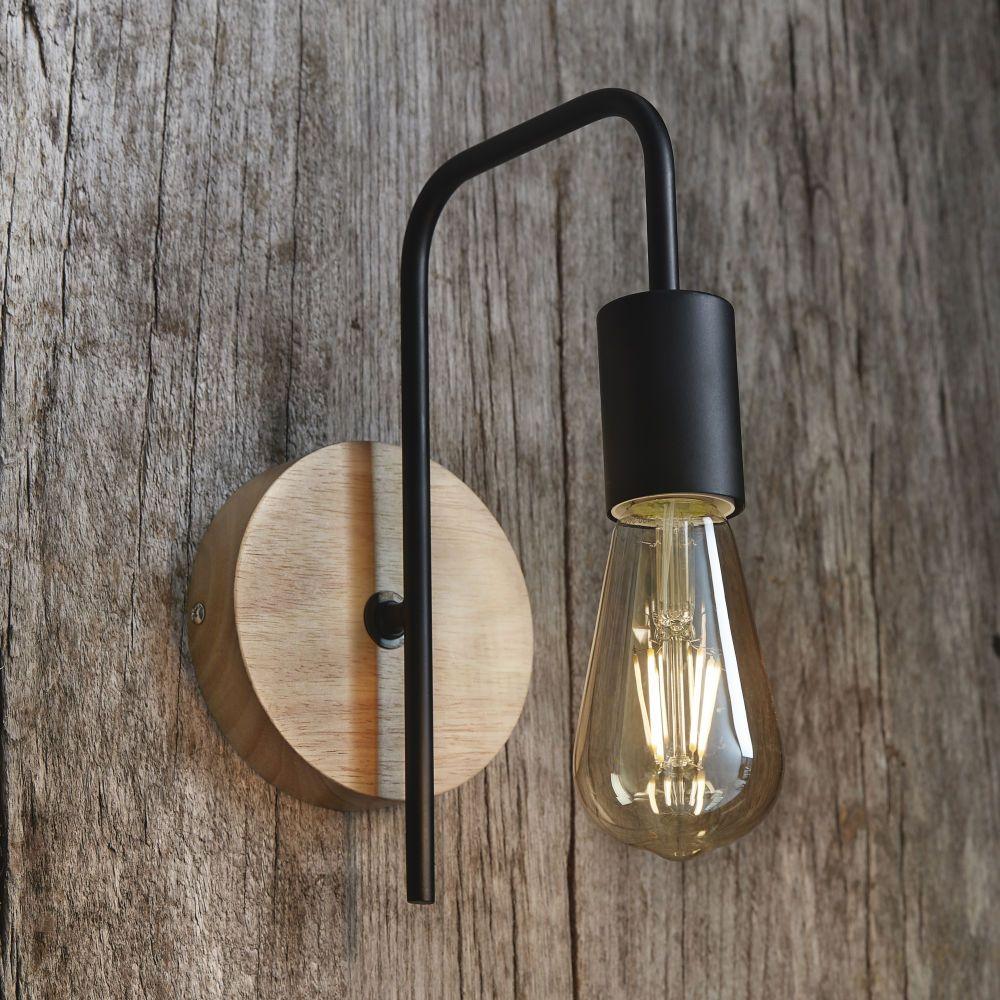 ZUEN Wandleuchte Aus Eisen Led wandlampe Kreativ Kleine Iron