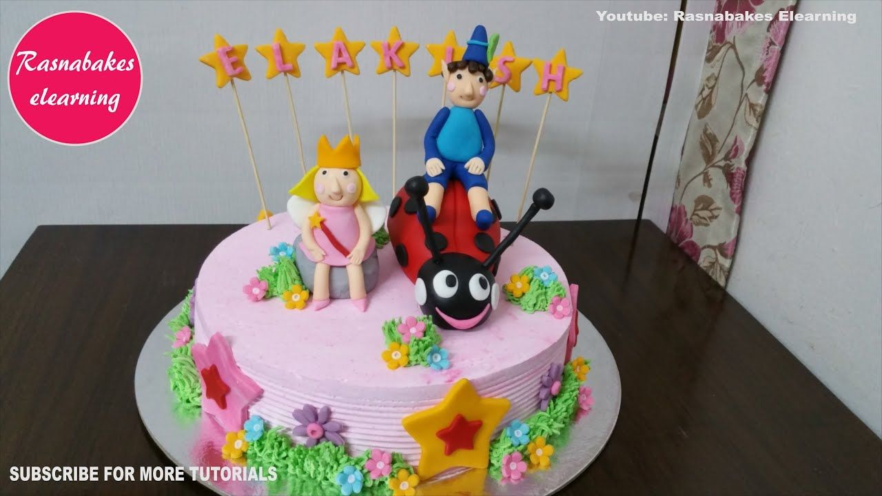 Ben And Holly Cake Designs For Girls Boys Kids Happy 6th Birthday