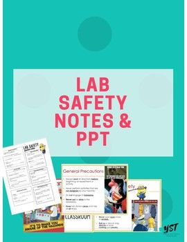 Introducing Lab Safety Station Activity and Notes | Science