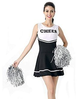 1aae6b8b9a7d5a Tollbuy Womens Cheerleader Costume Uniform Dress Cosplay One ...