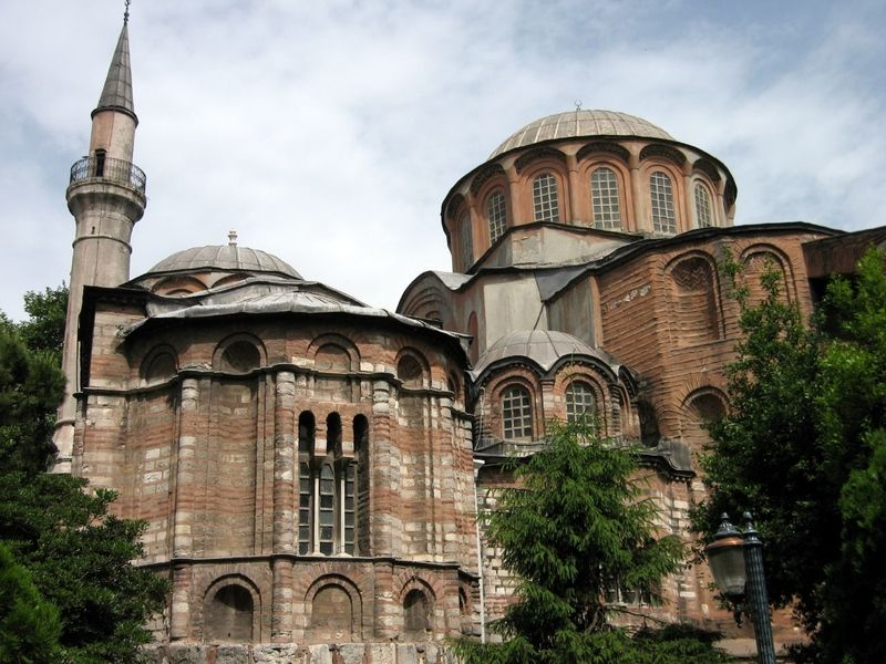 The Architecture of the Kariye Camii in Istanbul