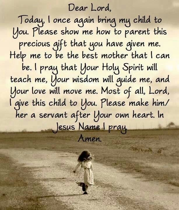 Dear Lord,  thank you for these precious gifts. ...