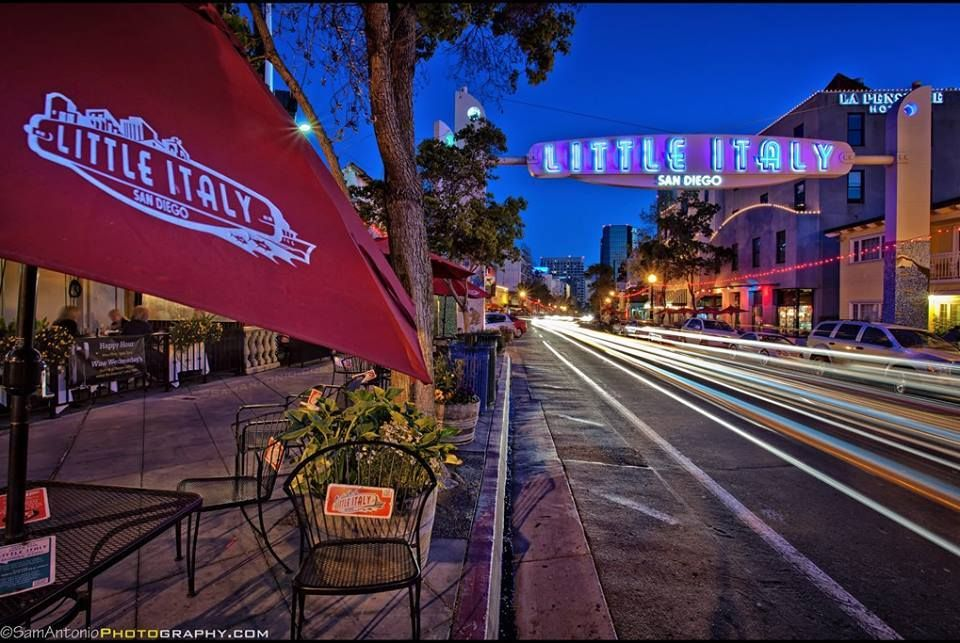 Sam Antonio Travel and Fine Art Photography  -  Little Italy in San Diego, California