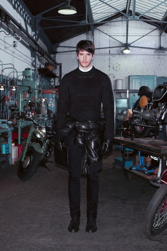 GIVENCHY BY RICCARDO TISCI  Fall 2013 men's collection   Read more by clicking on the image