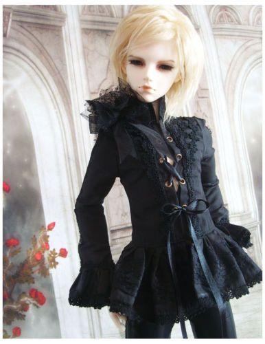 1//3 bjd 62-65cm SD17 boy doll black formal Shoes dollfie luts ship US