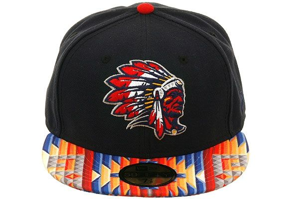 The Clink Room X Hat Club Stilson Chief Fitted Hat By New Era Fitted Hats Braves Game Outfit Cool Hats