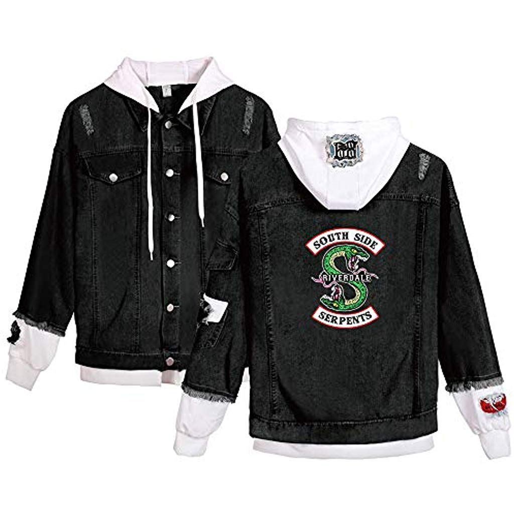 cheap for discount b0ef2 3ab0b EnjoyYourLife Riverdale Southside Serpents Jacke Damen Denim ...