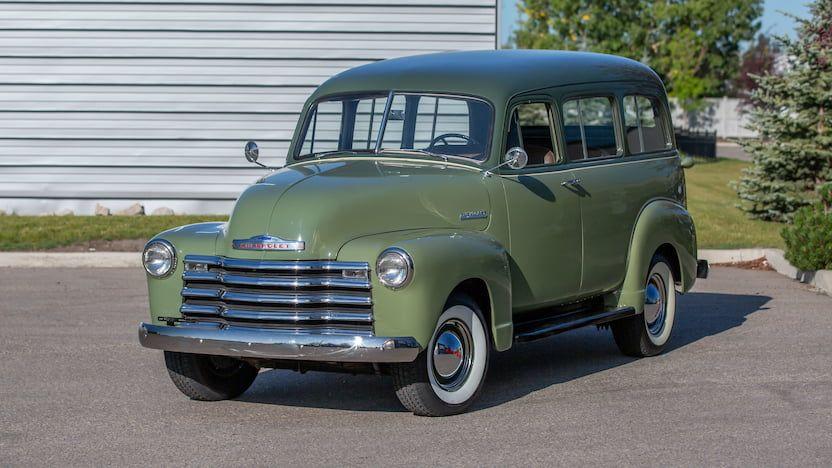 1952 Chevrolet Suburban Carryall F100 Las Vegas 2019 Chevrolet Suburban Chevrolet Chevy Chevrolet