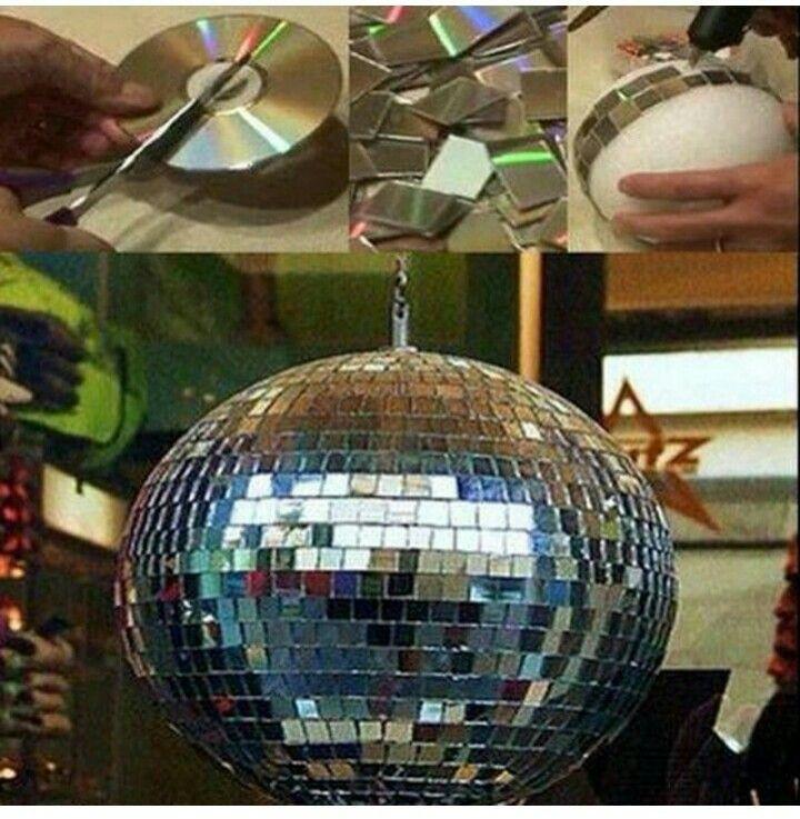 Bola de discoo manualidades diy do it yourself pinterest bola de discoo solutioingenieria Gallery
